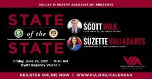 VIA 4th Annual State-of-the-State Program @ Hyatt Regency Valencia | Santa Clarita | California | United States