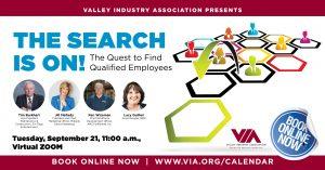 "SEPTEMBER VIA LUNCHEON - Virtual  ""The Search is On!"" @ Virtual/Zoom | Santa Clarita | California | United States"
